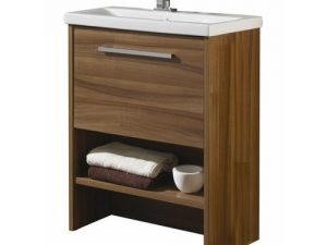 Boston American Walnut Vanity Unit