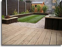 Patio Decking Garden